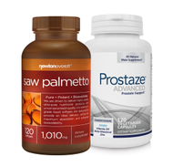 PROSTAZE & SAW PalMETTO MENS PALUE PACK by Newton-Everett Nutraceuticals