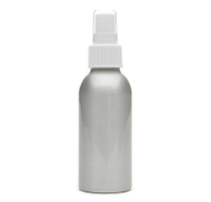AURA CACIA ALUMINUM MIST BOTTLE with Cap 4 fl oz 120ml by Aura Cacia