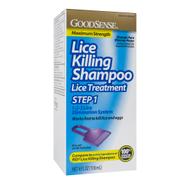 LICE KILLING SHAMPOO Maximum Strength 4oz 118ml by GoodSense