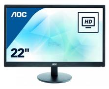 AOC LED 22 Inch Monitor - E2270SWN
