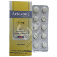 Actozone 30 Mg 10 tablet 1 strip