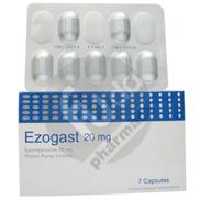 Ezogast 20 Mg 7 tablet 1 Strip
