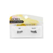 ANDREA ACCENT LASHES 301EYELASHE BLACK 61301