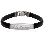iRenew Energized Health Bracelet Black