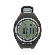 PLATINET PHR207 Sports Calorie Burn Counter Pulse Heart Rate Meter Fitness Running Watch GREY 42249