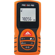 Prexiso P80 Laser Distance Meter up to 80 M with 2 AAA battery